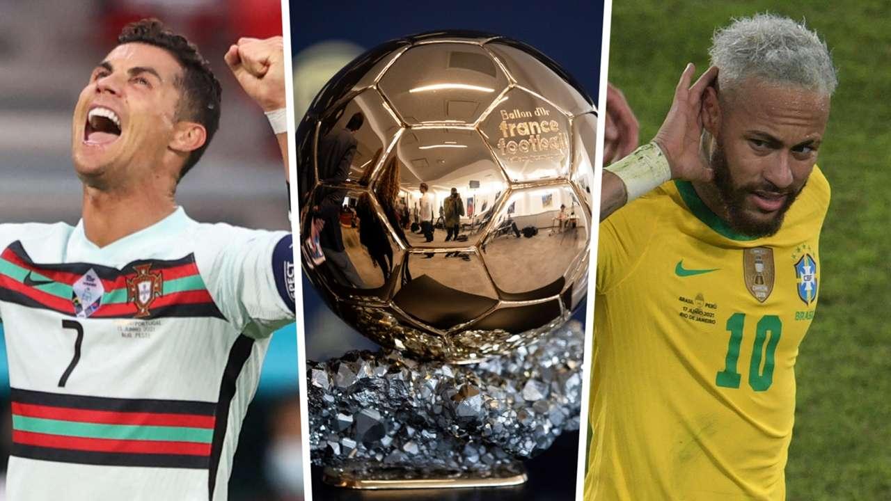 Ronaldo Neymar Ballon d'Or GFX