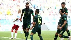 Mile Jedinak Australia Denmark WC 2018
