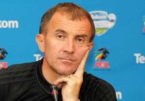 Orlando Pirates coach Milutin Sredojevic