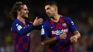 Luis Suarez Antoine Griezmann Barcelona Valencia La Liga 2019