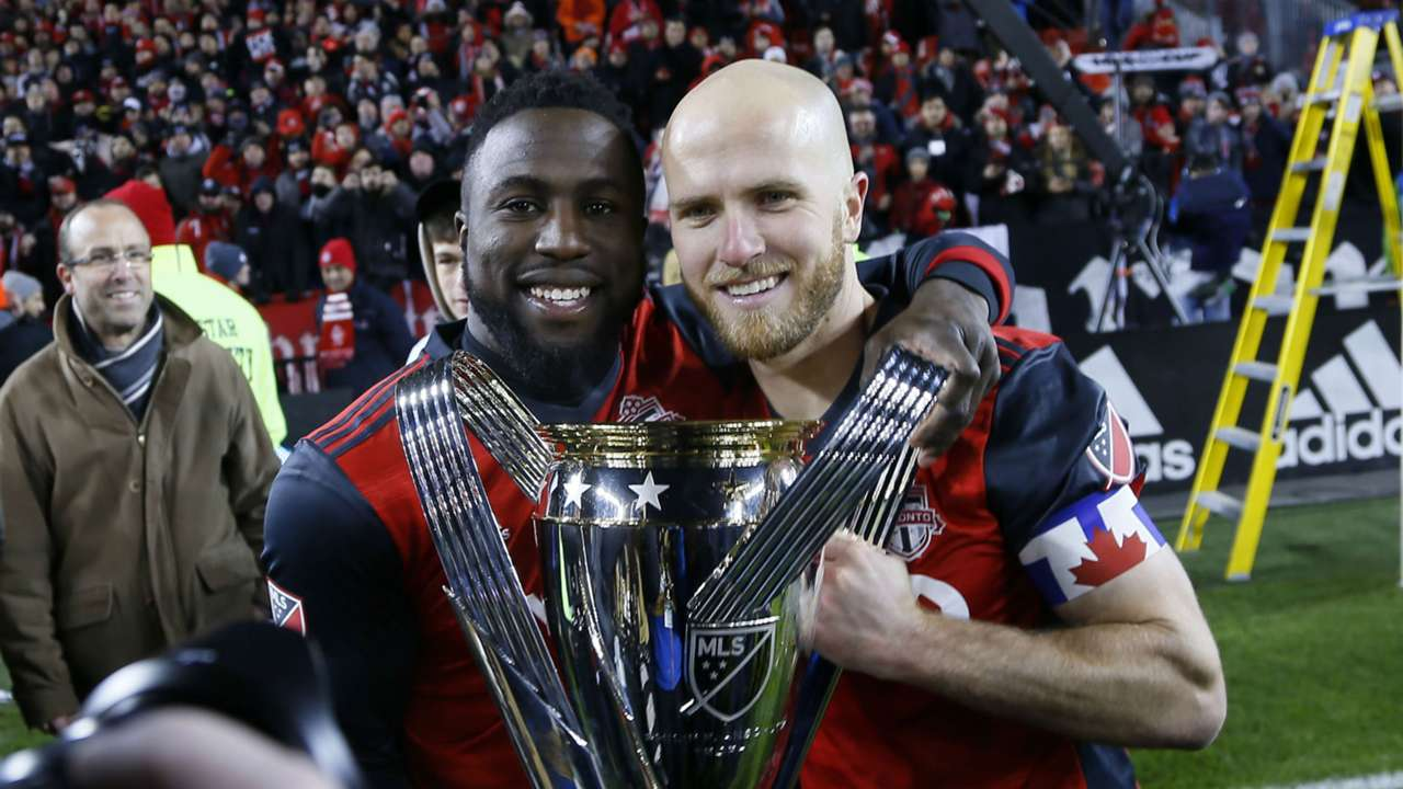 Michael Bradley Jozy Altidore Toronto FC MLS Cup