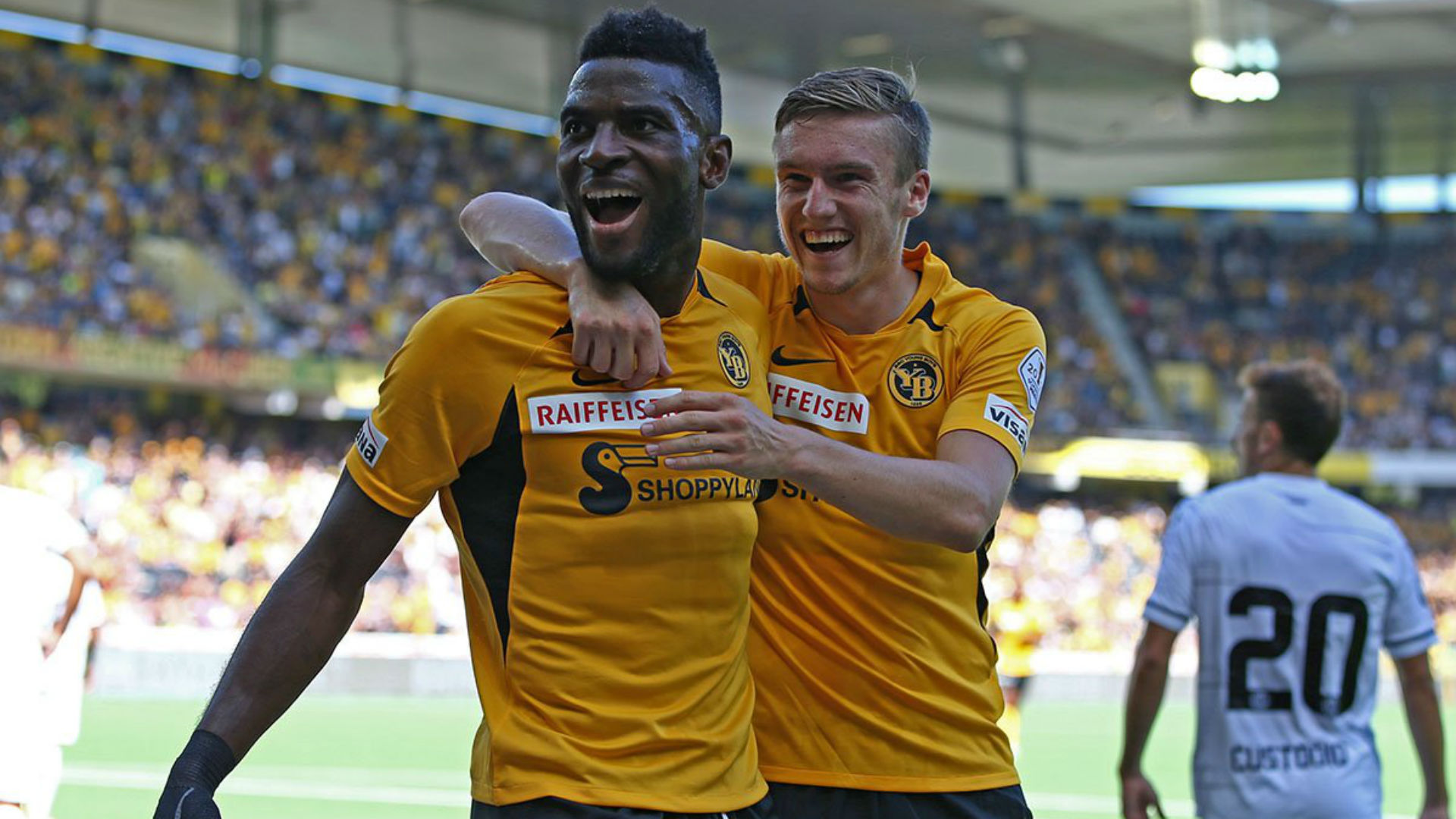 Nsame sets goalscoring record as Young Boys defend Swiss Super League title