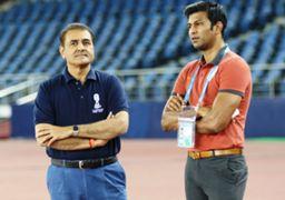 Praful Patel and Abhishek Yadav