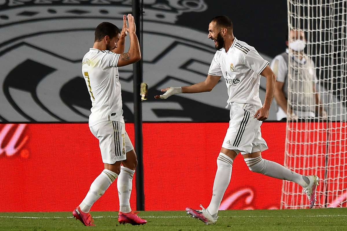 Hazard and Benzema make it look easy to keep Real Madrid in Liga