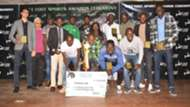 Cosmos Limited - Division One winners of Left Foot league