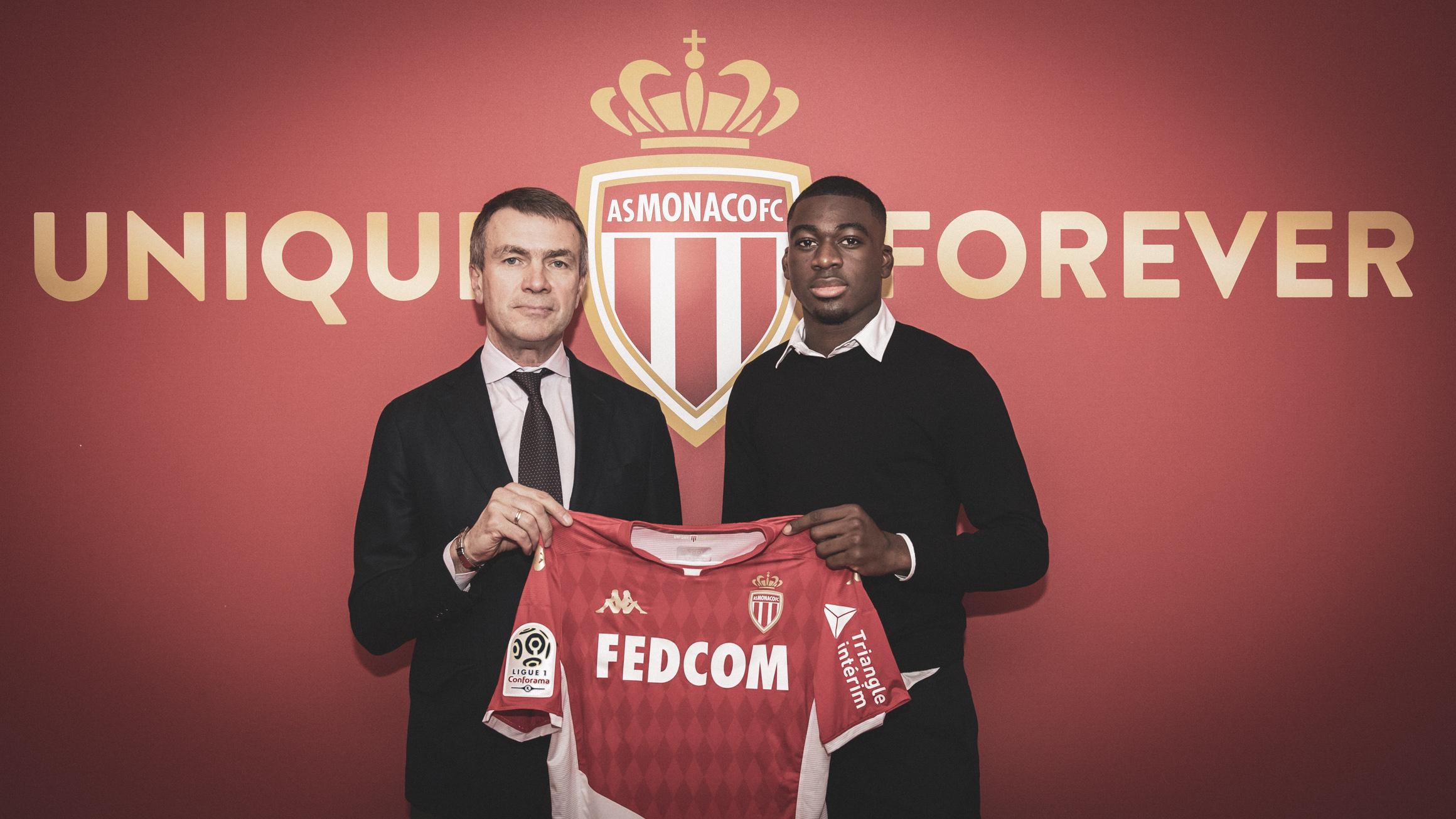 Officiel - Youssouf Fofana à Monaco