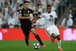 Vinícius Jr Real Madrid Vinicius City Kyle Walker Manchester City
