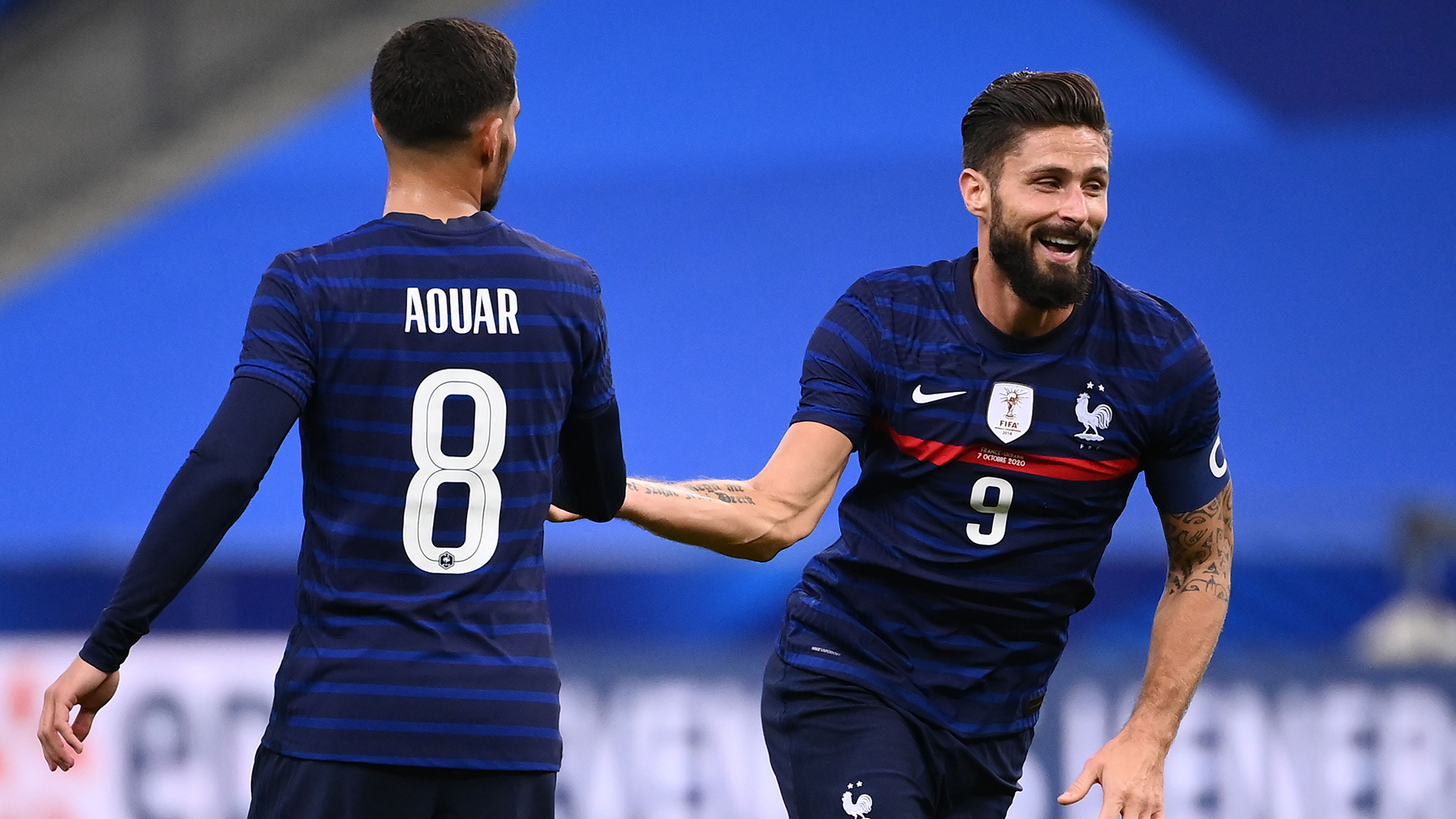 Giroud plays down chances to break Henry's all-time France scoring record