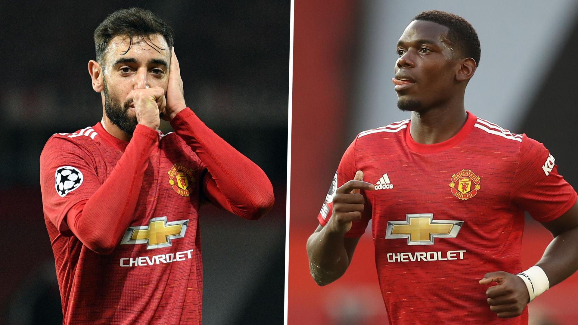 Fernandes assesses partnership with Pogba & addresses criticism of Man Utd midfielder