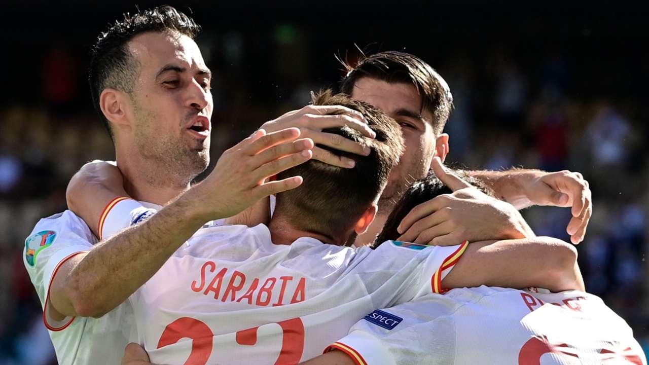 Busquets Spain Euro 2020