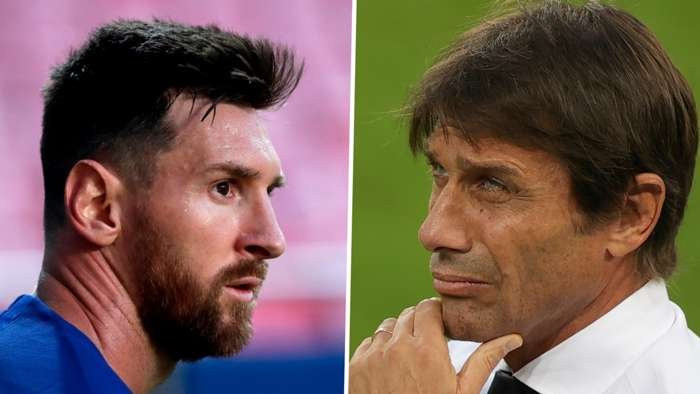 Lionel Messi Antonio Conte Barcelona Inter 2019-20 GFX