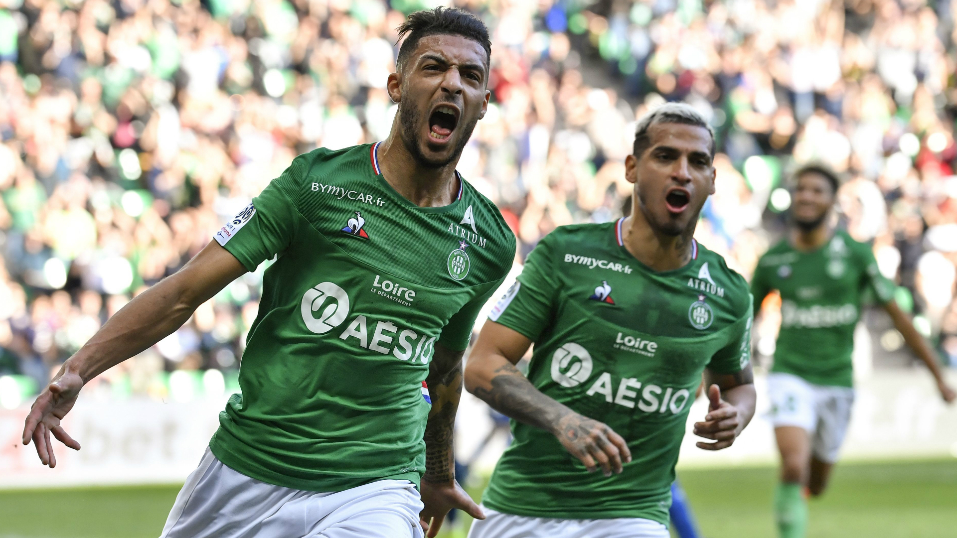 Saint-Etienne won't give up in Ligue 1 relegation fight - Bouanga