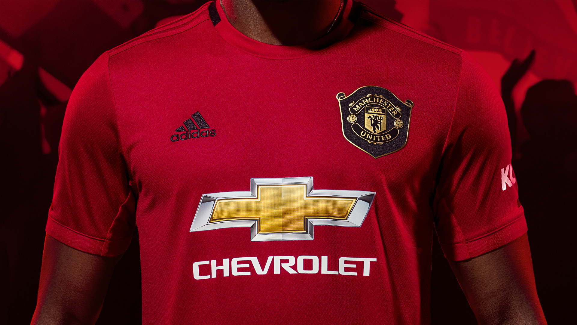 New Man Utd Kit Paul Pogba And David De Gea Feature As Red Devils Unveil New 1999 Treble Inspired Home Jersey Goal Com