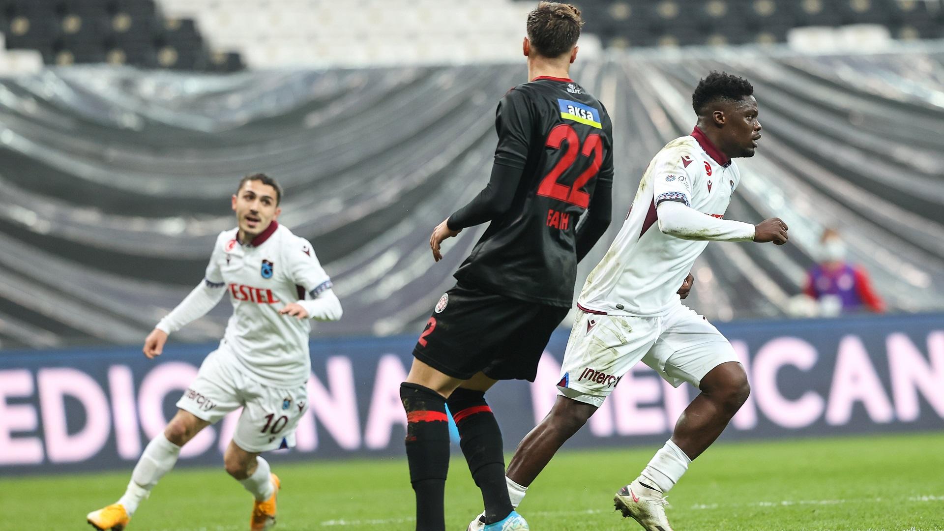 Opta maç sonu notları: Fatih Karagümrük - Trabzonspor