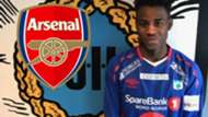 George Lewis Arsenal GFX