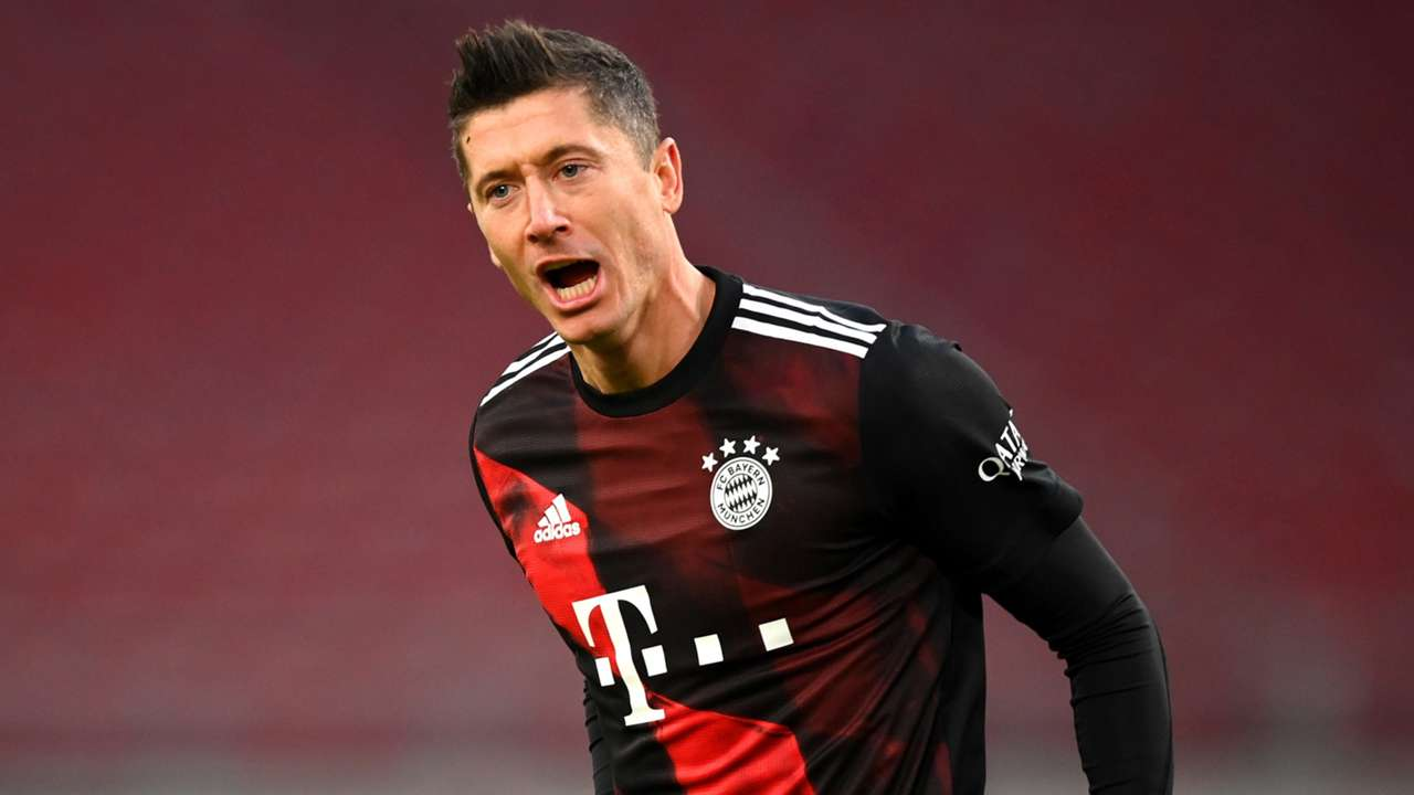 Robert Lewandowski Bayern Munich 2020-21