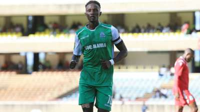 Gor Mahia captain Kenneth Muguna in action.