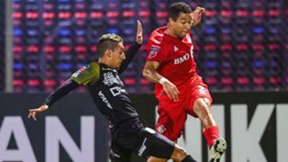Omar Cordoba Justin Morrow Toronto FC Independiente Concacaf Champions League 2019