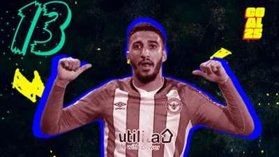 Goal 25 2020 13 Saïd Benrahma West Ham United Algeria