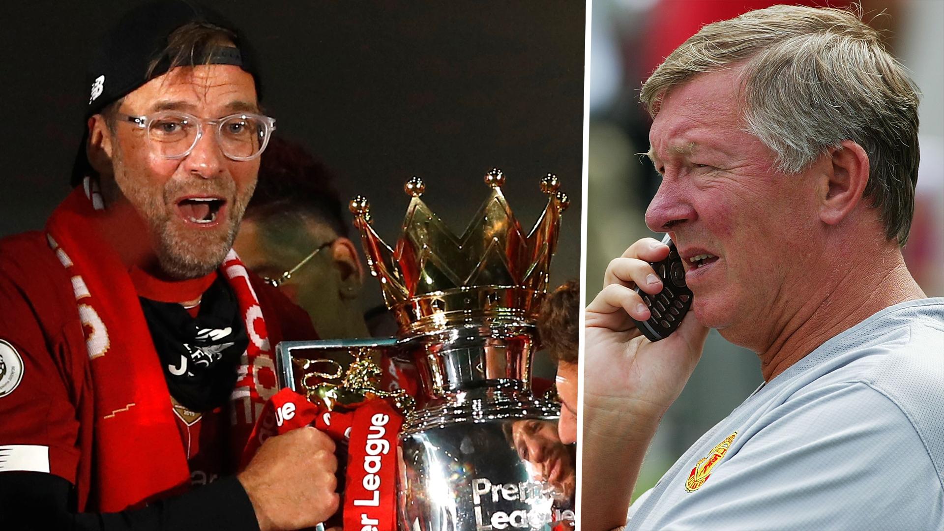 Sir Alex Ferguson forgives Jurgen Klopp for 3:30am wake-up call following Liverpool's title triumph