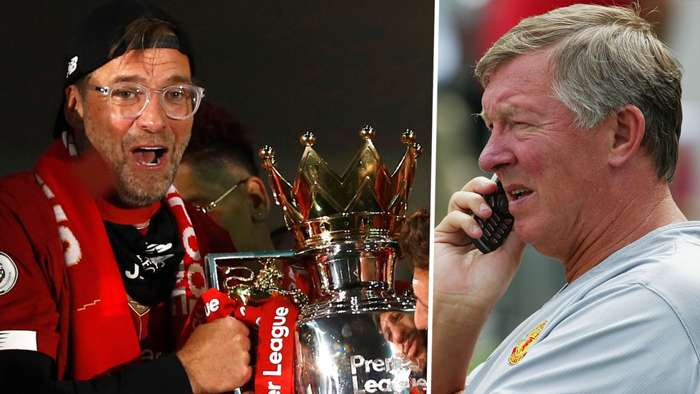 Jurgen Klopp Sir Alex Ferguson