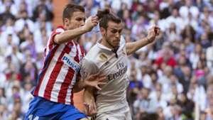 Gabi Gareth Bale Real Madrid Atletico Madrid La Liga