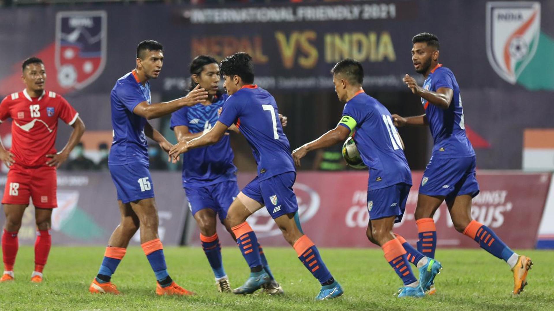 Nepal 1-1 India: Anirudh Thapa salvages a draw against the Gorkhalis    Goal.com