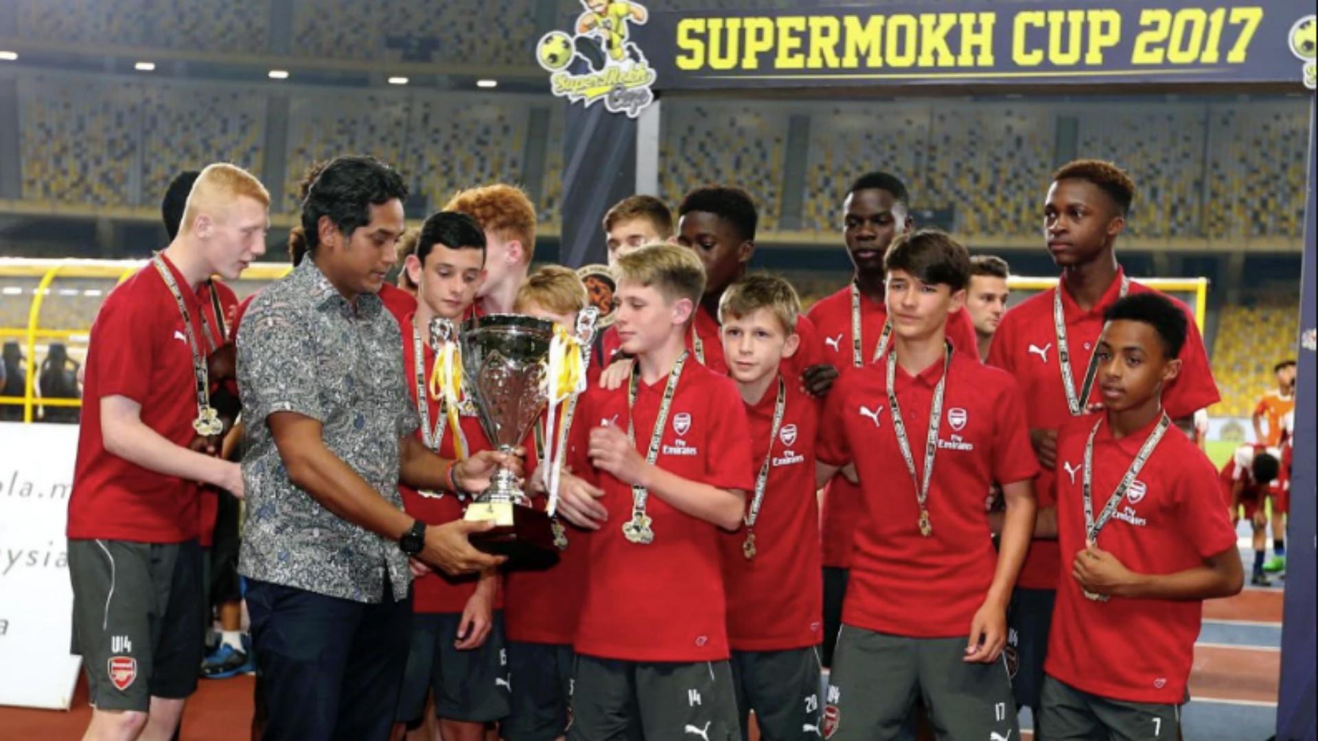 Arsenal U15s, SuperMokh Cup 2017