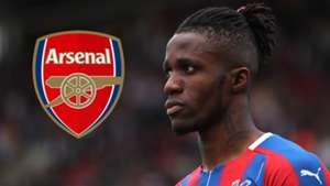Wilfried Zaha Crystal Palace Arsenal