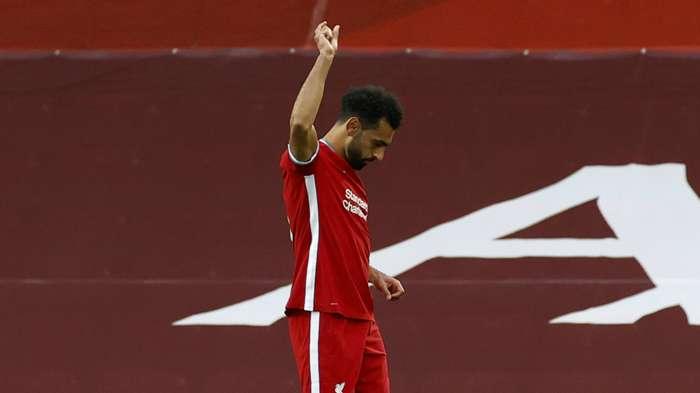 Mohamed Salah Liverpool vs Leeds Premier League 2020-21