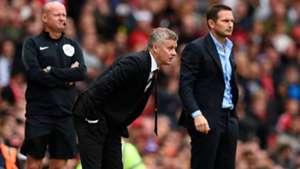 Ole Gunnar Solskjær vs Frank Lampard Man Utd vs Chelsea 19-20