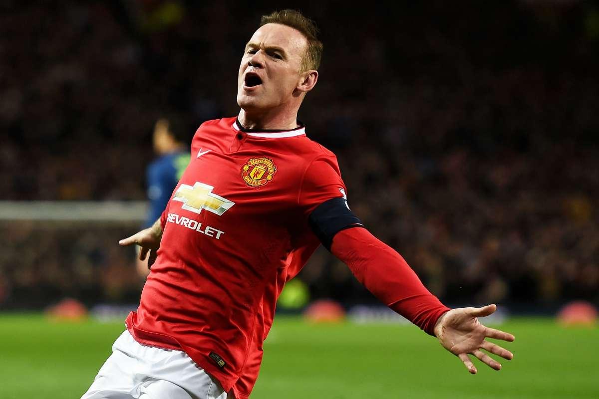 Manchester United star, Wayne Rooney.