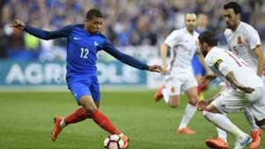 Kylian Mbappe France Spain Friendly 28032017