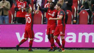 Sebastian Giovinco Jozy Altidore Nicolas Hasler Toronto FC