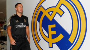 Eden Hazard, during the medical test of the Real Madrid first preseason day