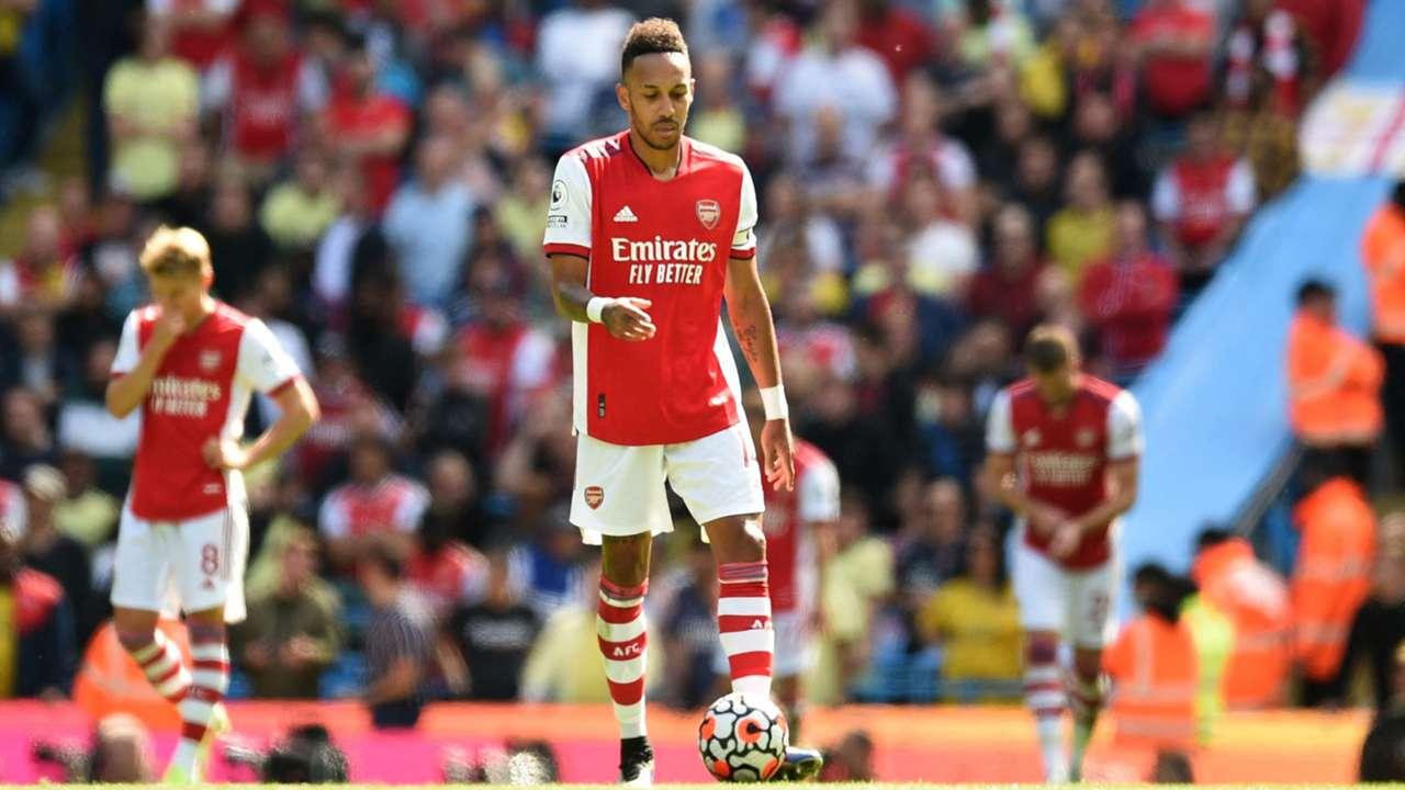 Aubameyang, Arsenal 2021-22