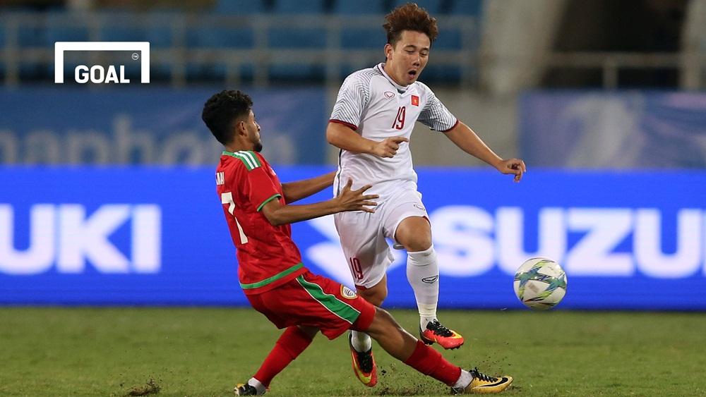 Olympic Việt Nam Olympic Oman Giải giao hữu U23 quốc tế 2018