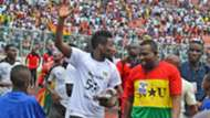 Gyan and fans