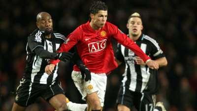 Ronaldo Man United Newcastle