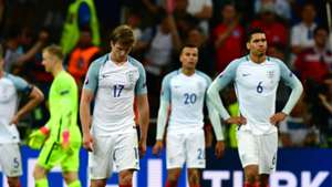 England deflated after Russia goal
