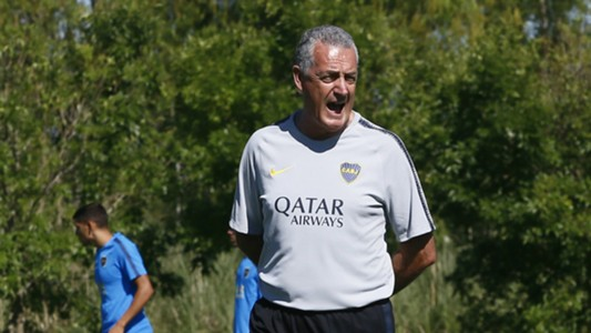 Gustavo Alfaro Boca Pretemporada 012019