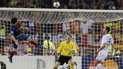 Lionel Messi Barcelona Manchester United Champions League 2008-2009
