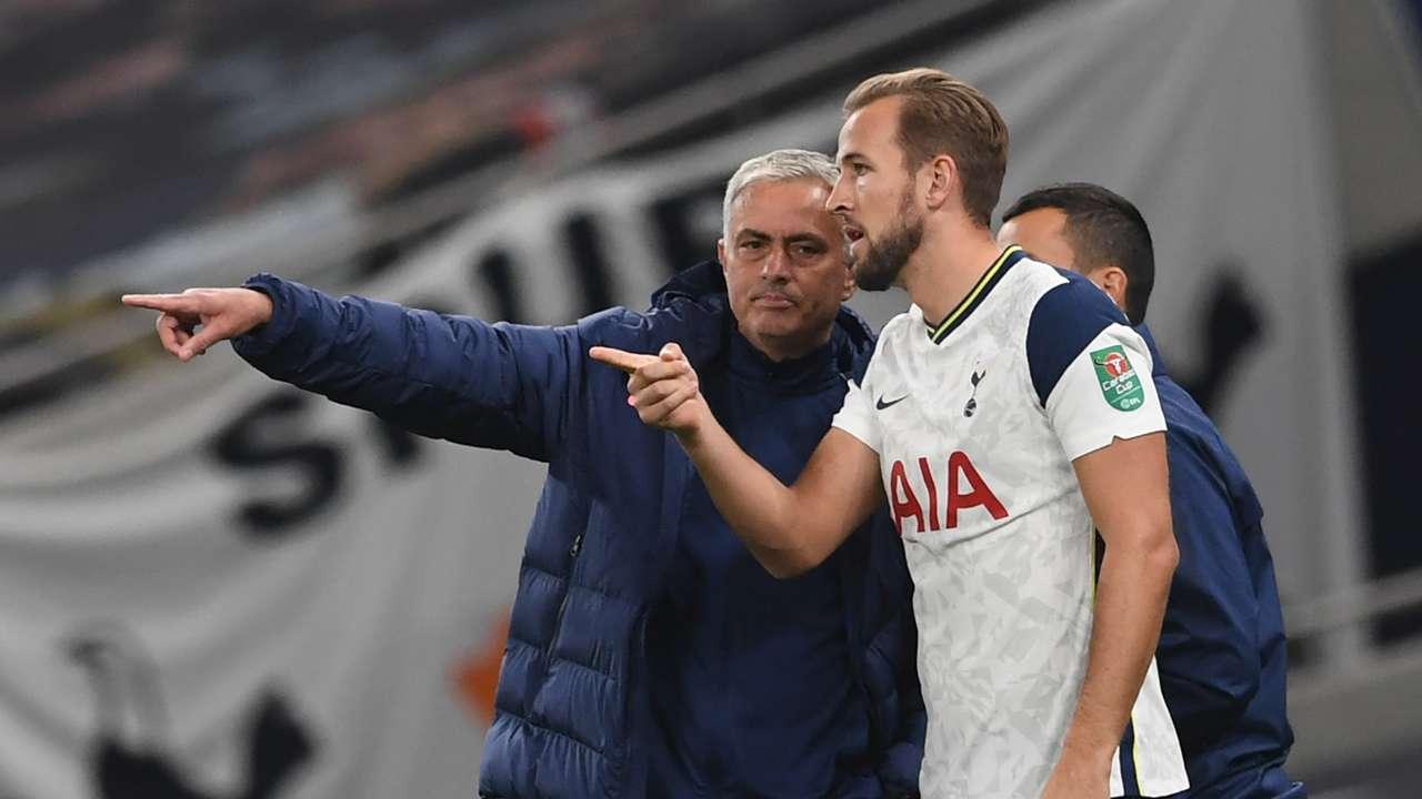 Jose Mourinho/Harry Kane Tottenham 2020-21