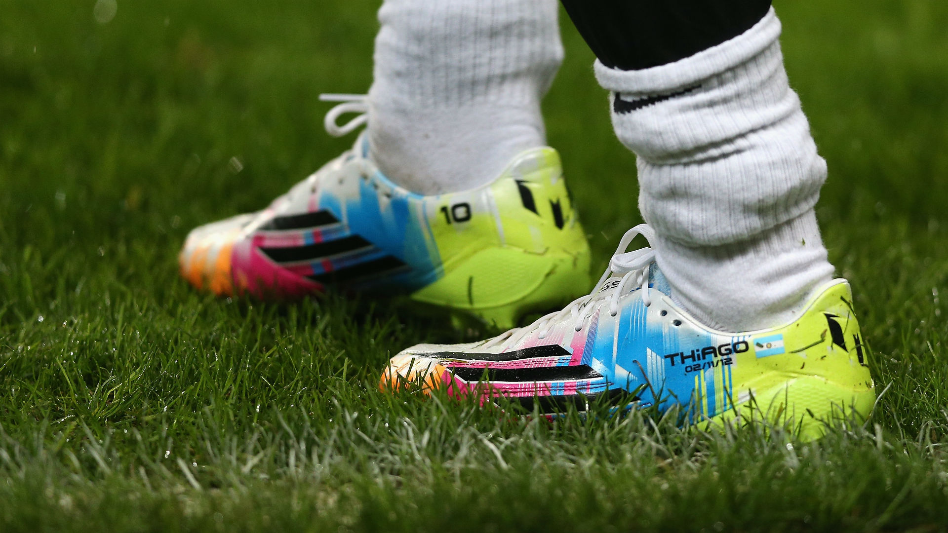 Messi his first signature boot