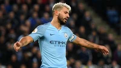 Manchester City Sergio Agüero 26122018