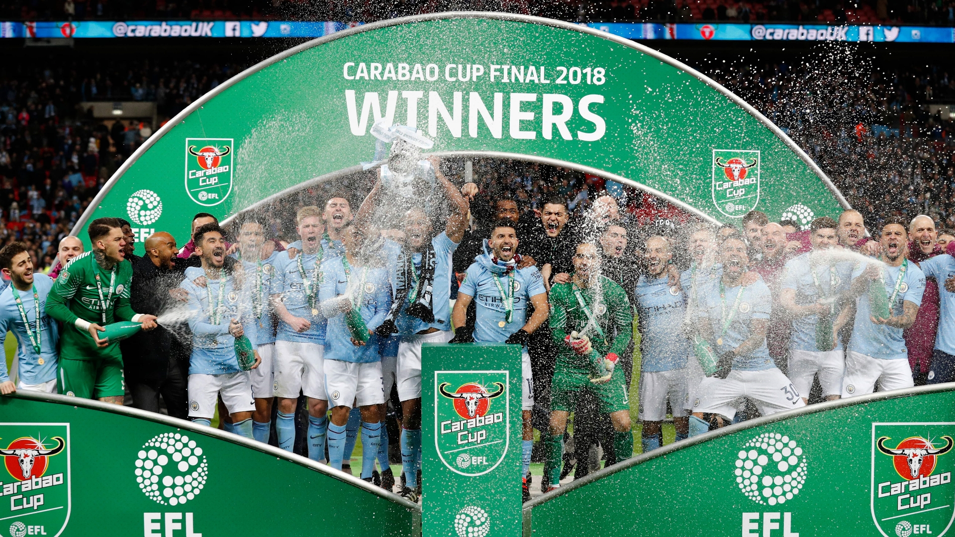 Arsenal hit record new lows as Man City set club best in Carabao Cup final  | Goal.com