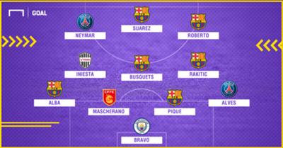 Barcelona 4-0 Real 22/11/15
