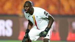 Denis Onyango of Uganda v Zimbabwe.