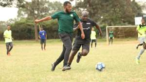 Cosmos Limited in league action.