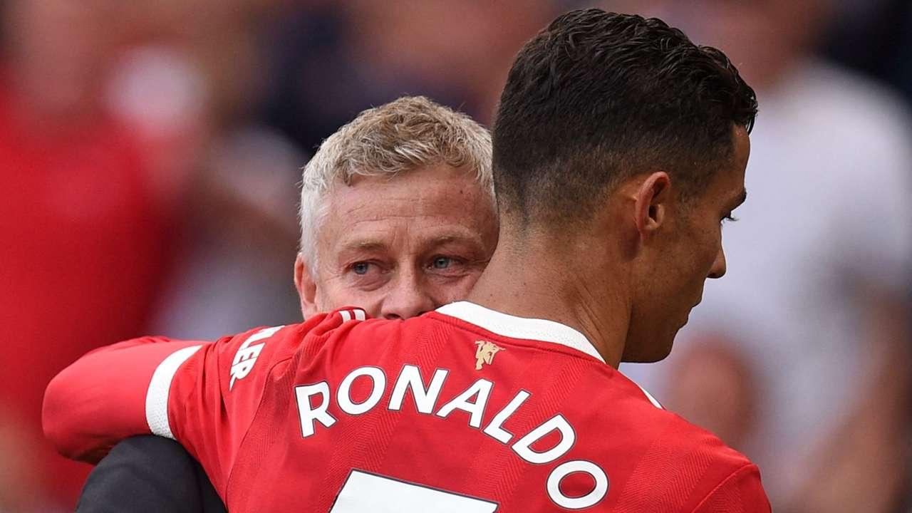 Ole Gunnar Solskjaer Cristiano Ronaldo Manchester United